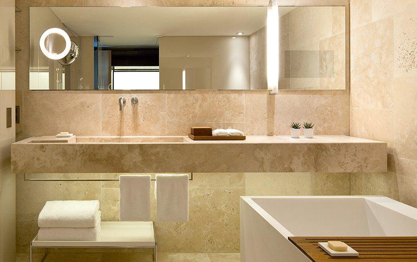 Sanitaire luxe in 11 verschillende hotelstijlen