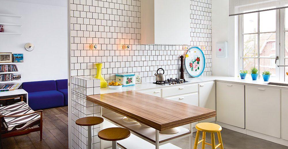 Retro Design Keuken : Retro keuken actief wonen