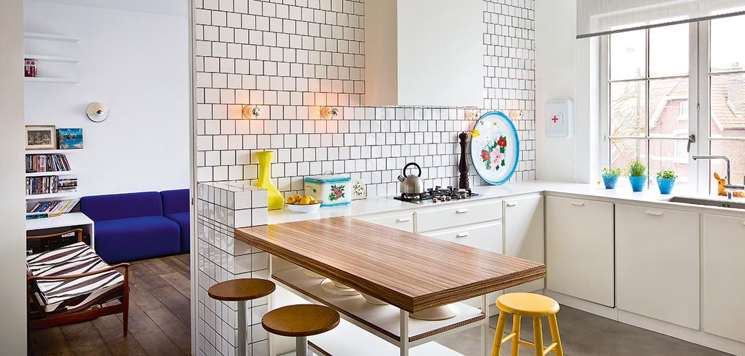 Retro keuken actief wonen - Winkel raam keuken ...