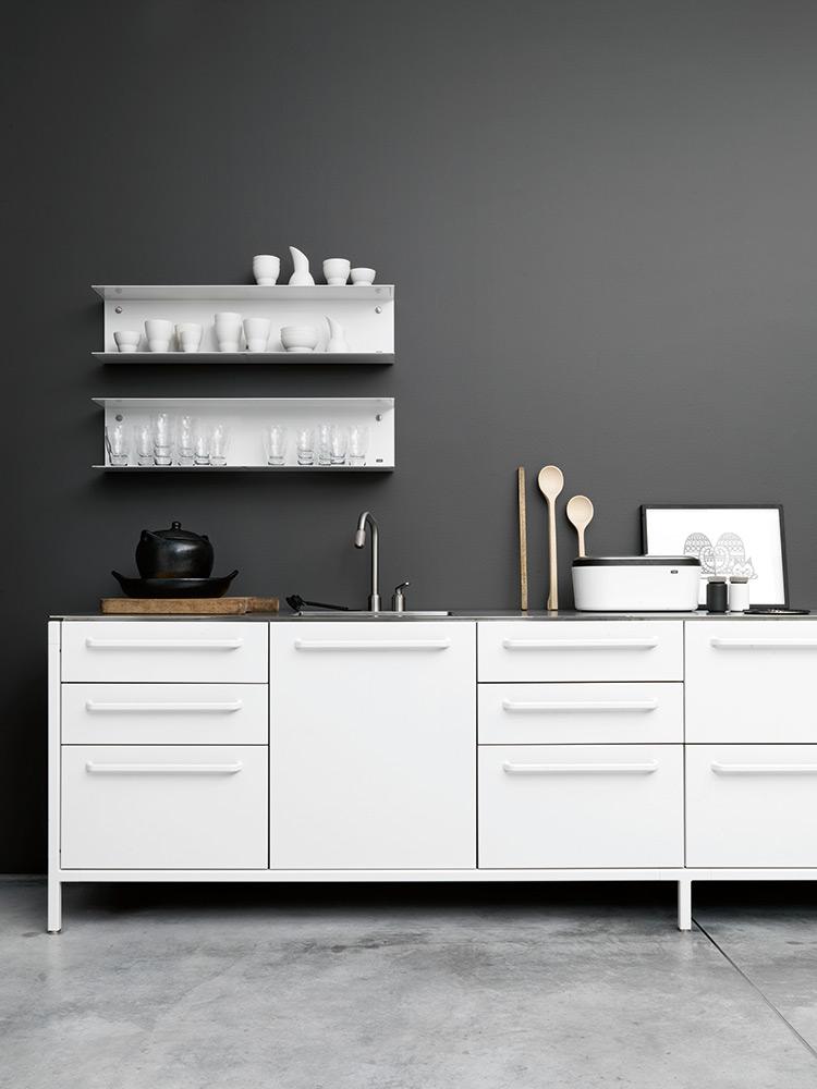 Witte Keuken Donkere Muur : verschillende keukenstijlen – Actief Wonen