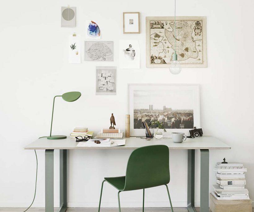 Je bureau in Scandinavische stijl