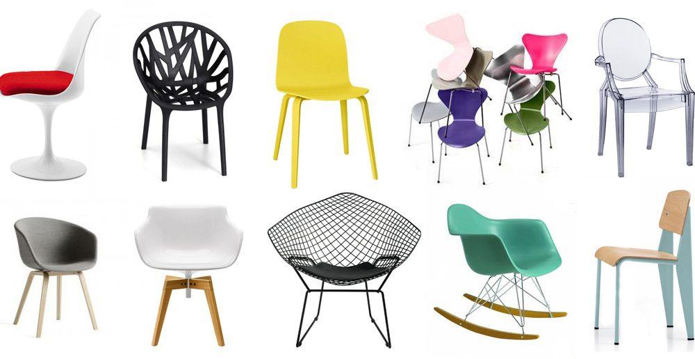 10 design stoelen