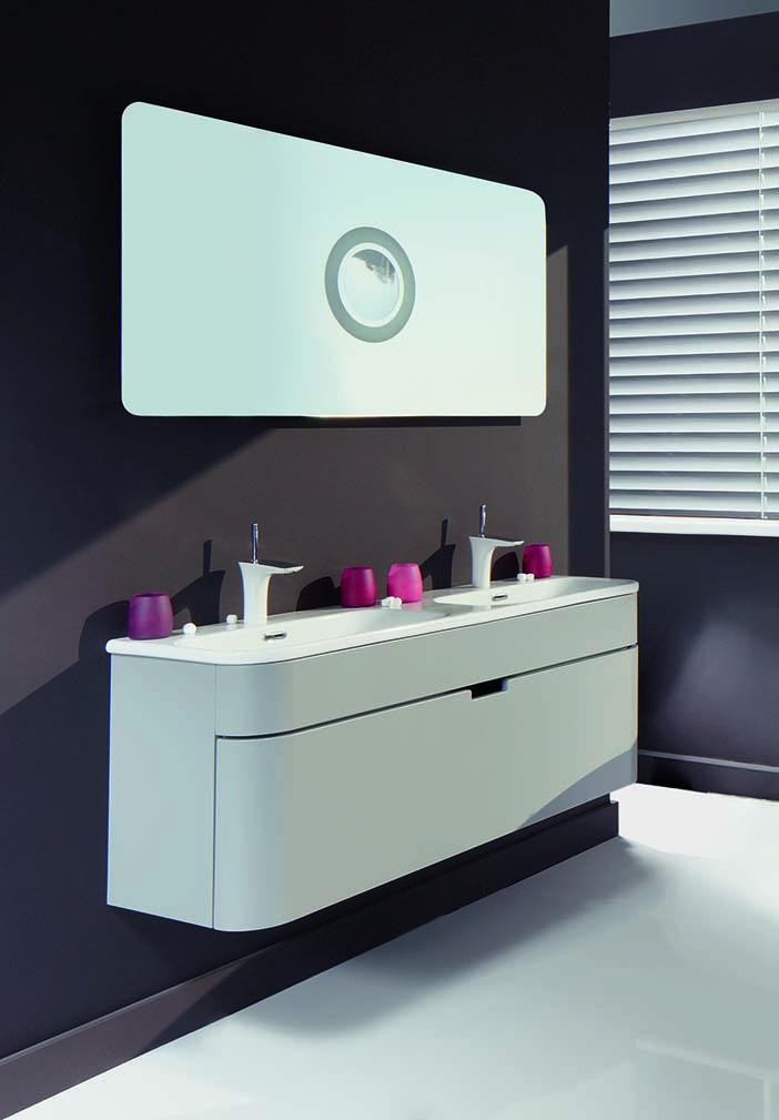 Badkamermeubels op hun mooist actief wonen - Badkamer meubel model ...