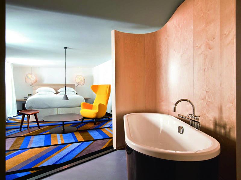 Een open badkamer, wel of geen goed idee? - Actief Wonen