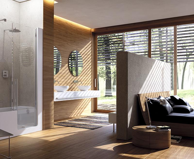 Badkamer Slaapkamer Ineen : Een open badkamer wel of geen goed idee actief wonen