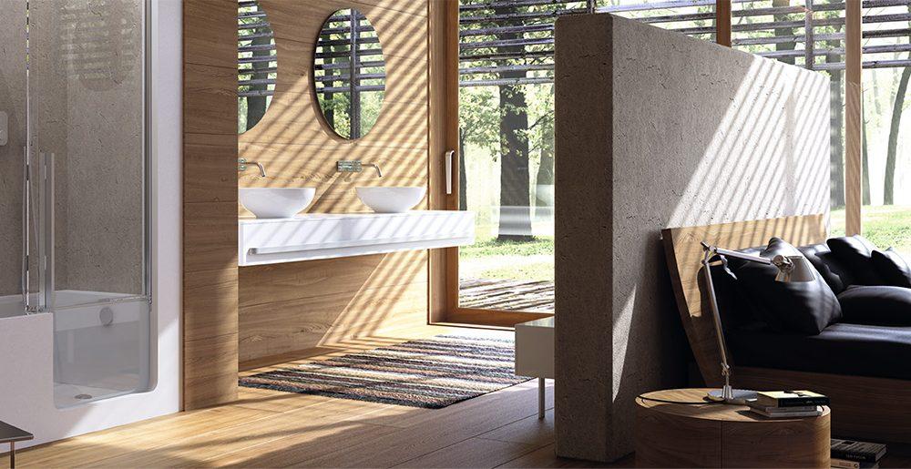 Hedendaags Een open badkamer, wel of geen goed idee? - Actief Wonen WW-24