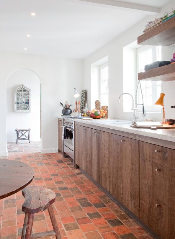Drie keukenopstellingen actief wonen - Keuken ontwerp lineaire ...