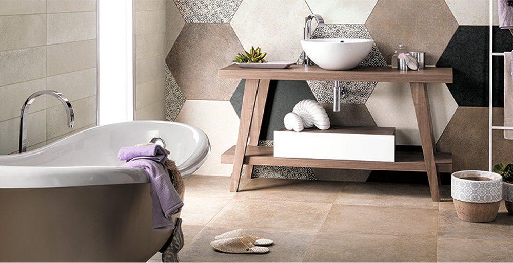 Badkamertegels Met Motief : Leven in de badkamer tegels met een motief actief wonen