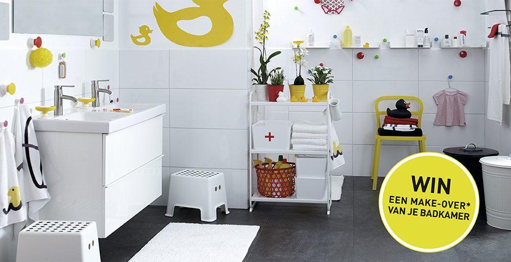 Win een badkamermake-over van Ikea - Actief Wonen