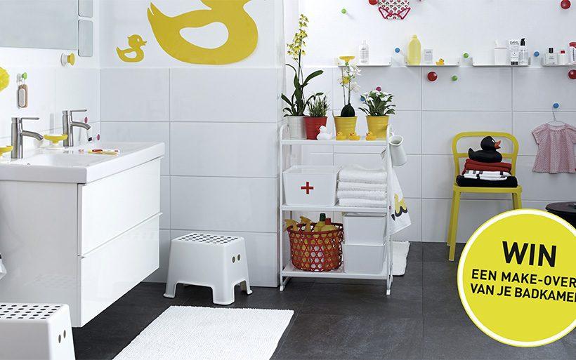 Win een badkamermake-over van Ikea