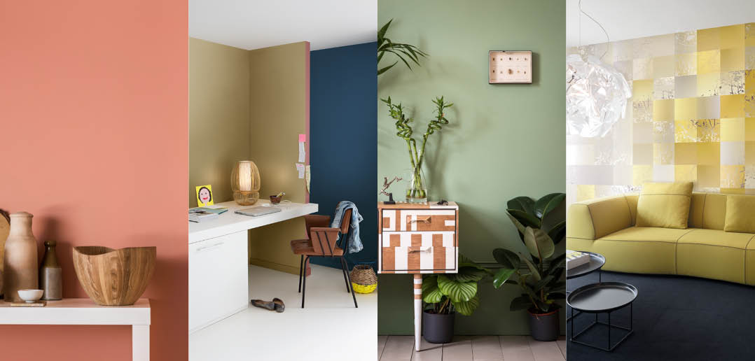 Vier kleurentrends en hoe je ze toepast actief wonen - Warme en koude kleuren in verf ...