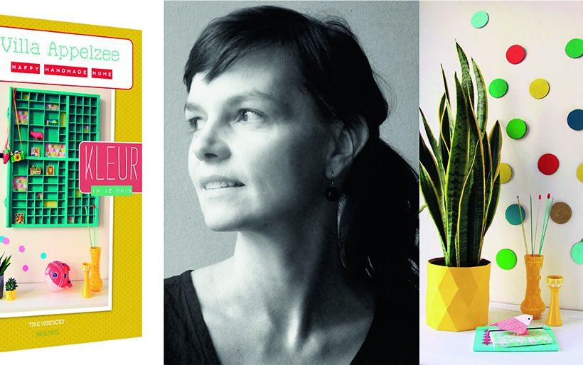 Tine Verdickt over haar nieuw boek 'Kleur'