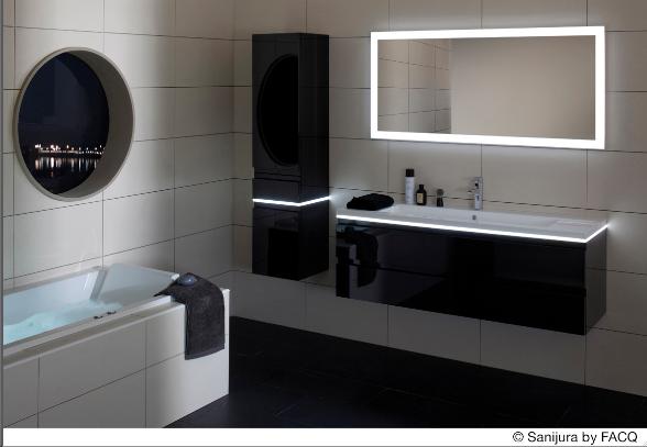 Facq badkamers batibouw hout verovert badkamers bij facq bouwenwonen - Meuble sdb ontwerpen ...