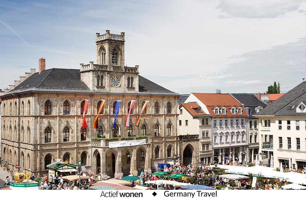 3 redenen om cultuurstad Weimar te ontdekken