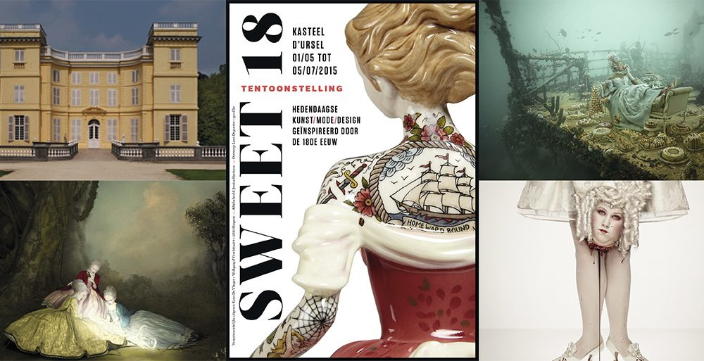 Expo 'Sweet 18': design in een kasteel