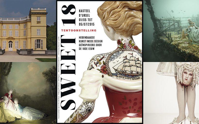 Expo 'Sweet 18': design in een kasteel