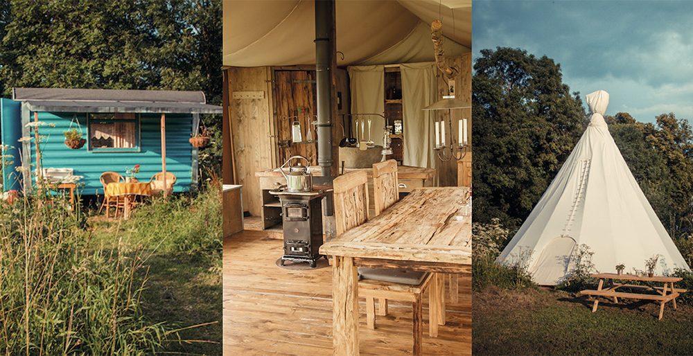 Glamping: 3 luxueuze kampeeradressen dichtbij
