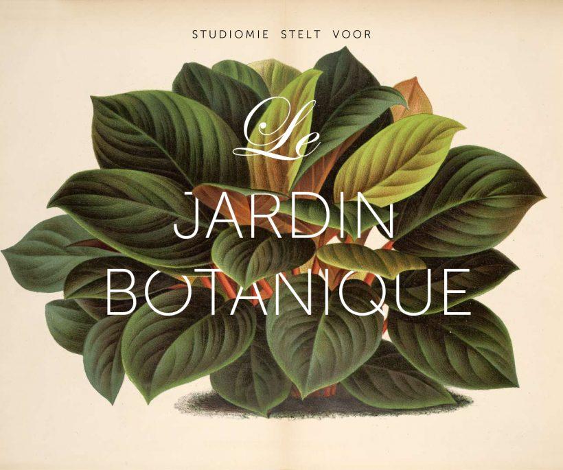 Tijdelijke botanische tapasbar in Gent