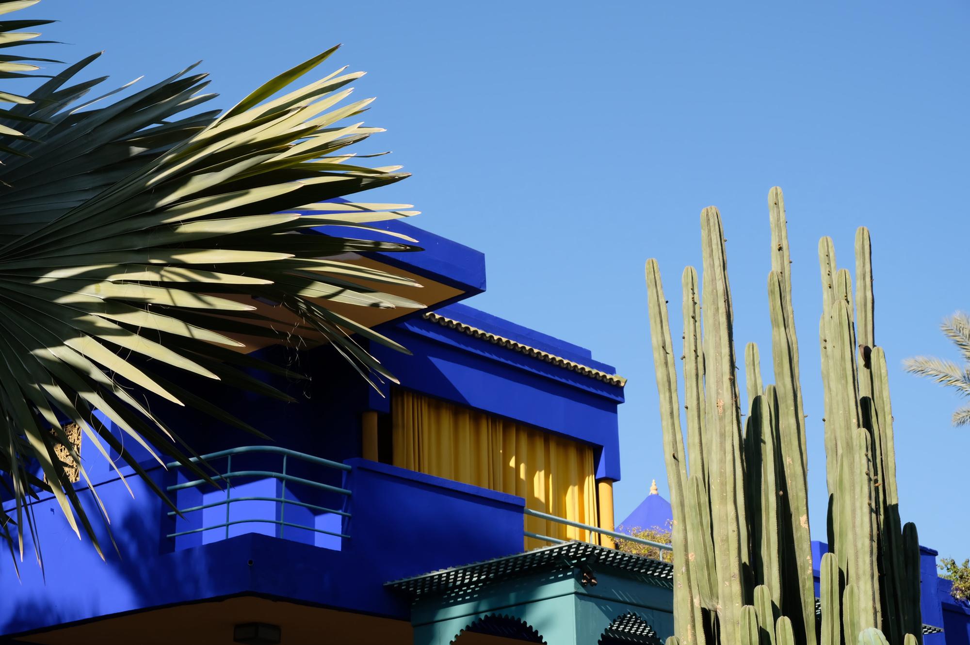 Inspiratie: zo gebruik je het 'Majorelle' blauw in je interieur