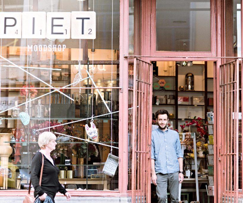 Piet Moodshop in Gent verjaart en schenkt een restyling weg