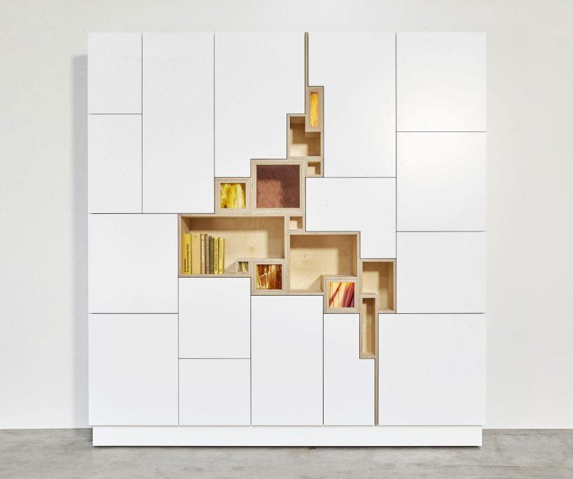 Rupture: nieuwe wandkast van Filip Janssens