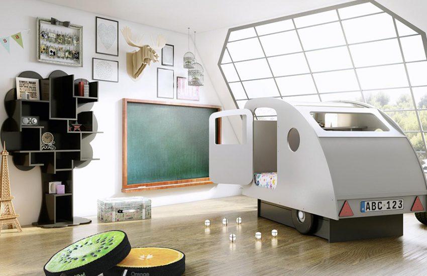 Een droomkamer voor elk kind. actief wonen