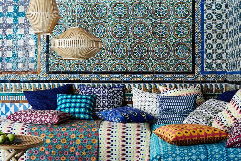 Zie hier jouw zomerhuis, exotisch interieur en zinderend van kleur