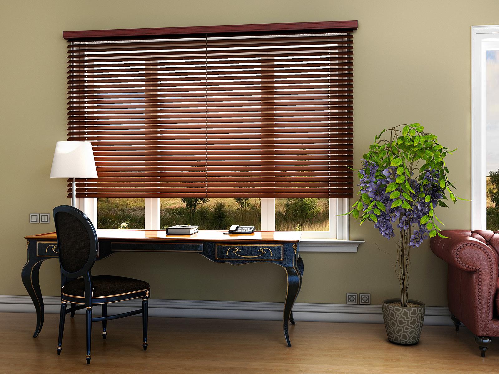 CREON-wooden blind