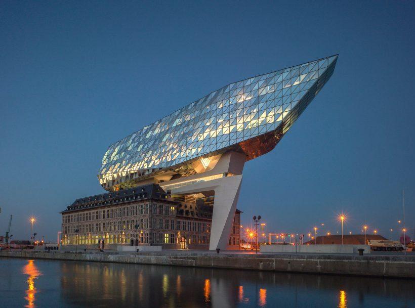 Het Antwerpse huis van Zaha Hadid