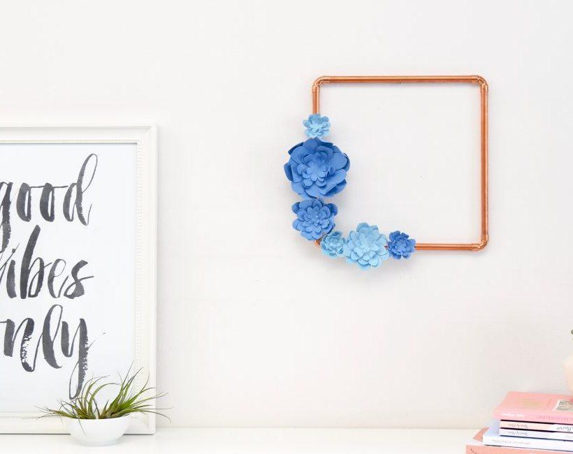 DIY : Muurbloempje in mooi kader
