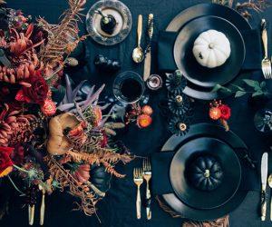 Halloween-table
