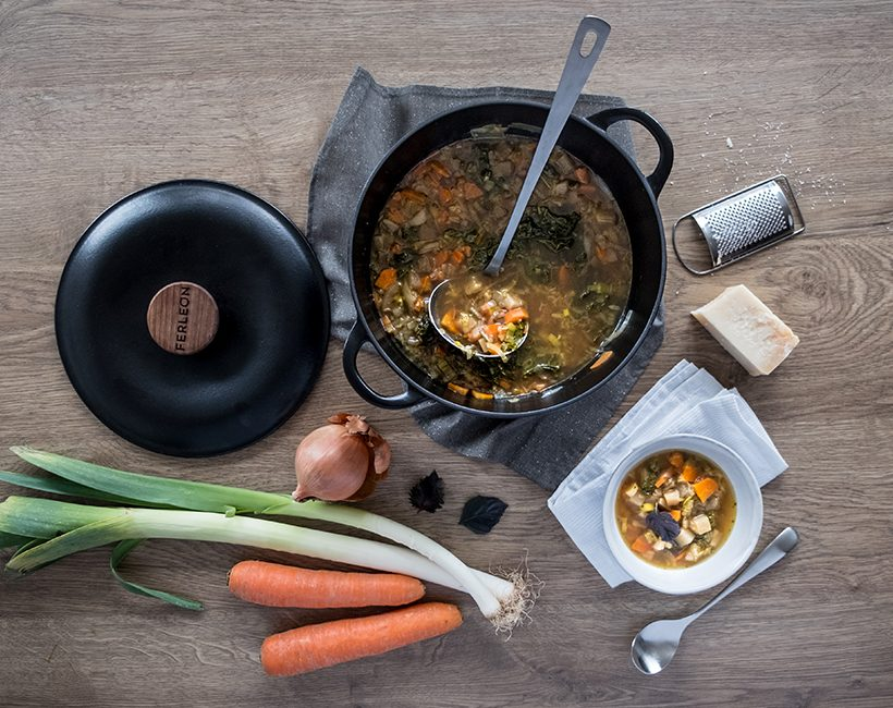 Detox-bouillon doet goed na luxe-food