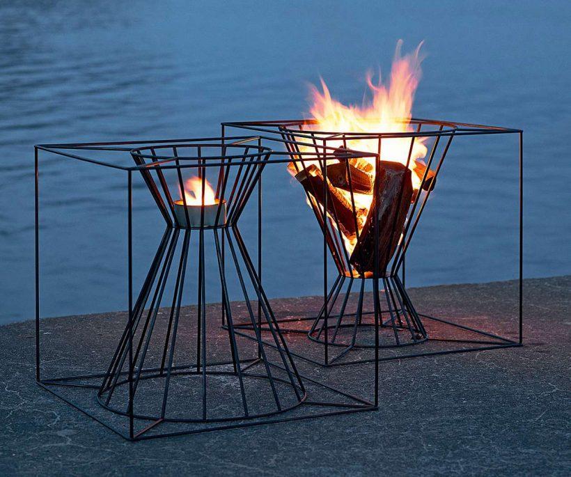 Vuurkorf vurige verleider voor Valentijn