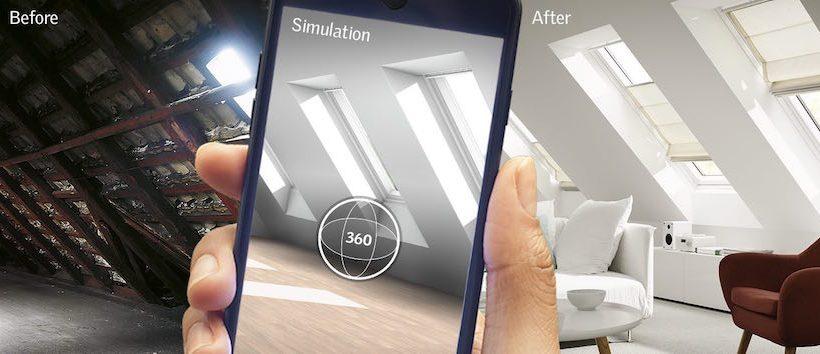 MyDaylight: de app van VELUX die daglicht simuleert
