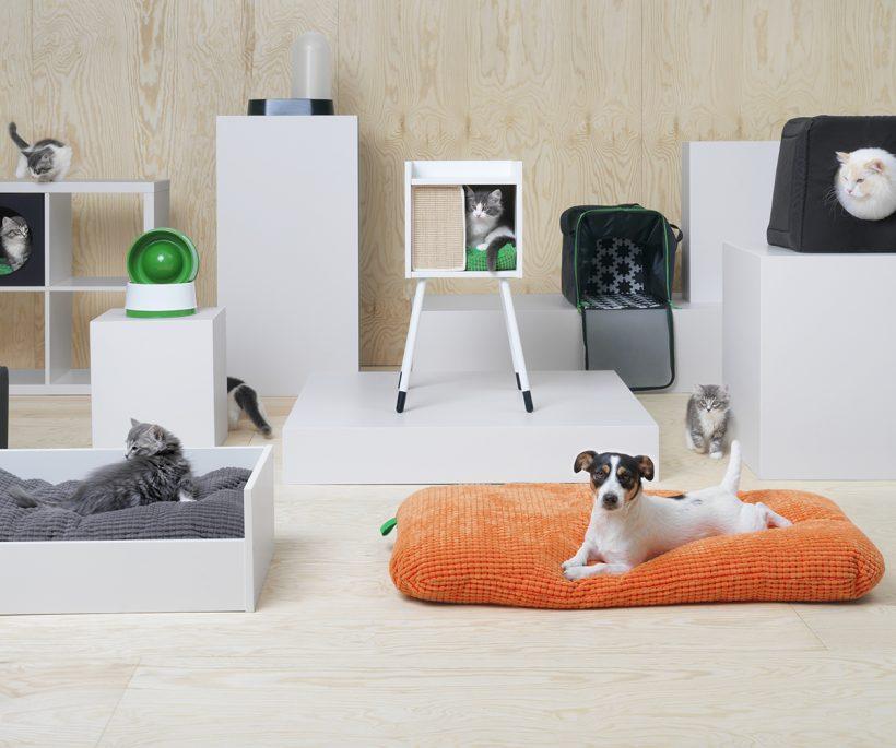 IKEA lanceert LURVIG, de collectie die je viervoeter stijlvol in de watten legt
