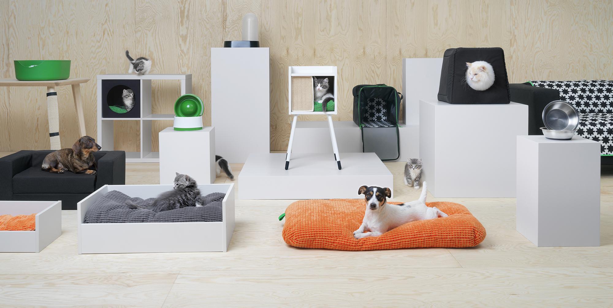 Ikea lanceert lurvig de collectie die je viervoeter in de watten legt