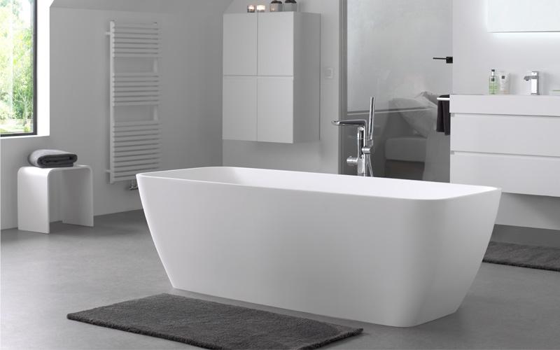 Solid Surface Badkamer : Solid surface dé nieuwste trend in badkamerdesign