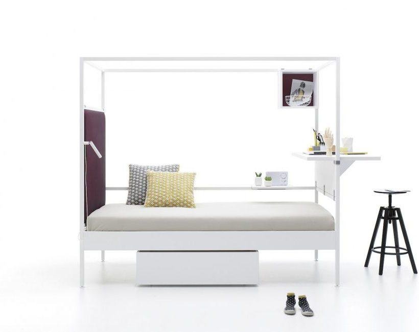 Een mooi én alles-in-één bed? Maak kennis met NOOK van Carlos Tíscar