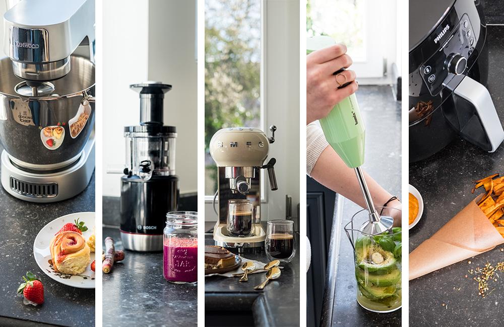 5 keukenhulpjes en recepten met handleiding