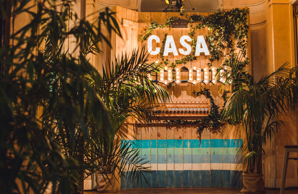 Casa Corona: de pop-up bar voor een Brusselse verfrissing