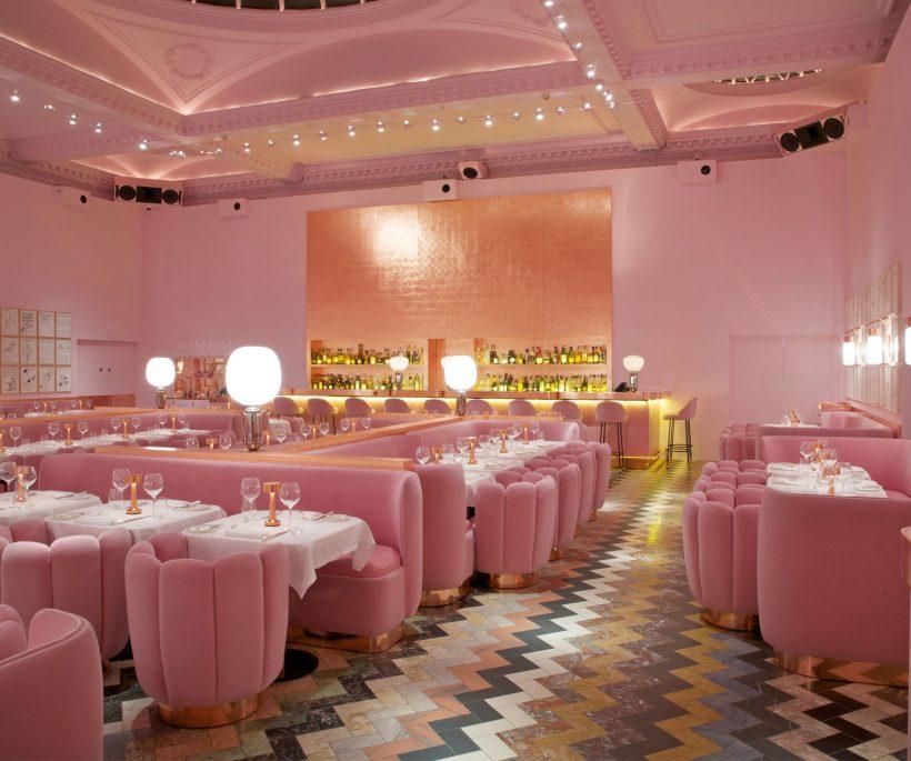 The trend experience: hotspots met pastelkleurige interieurs