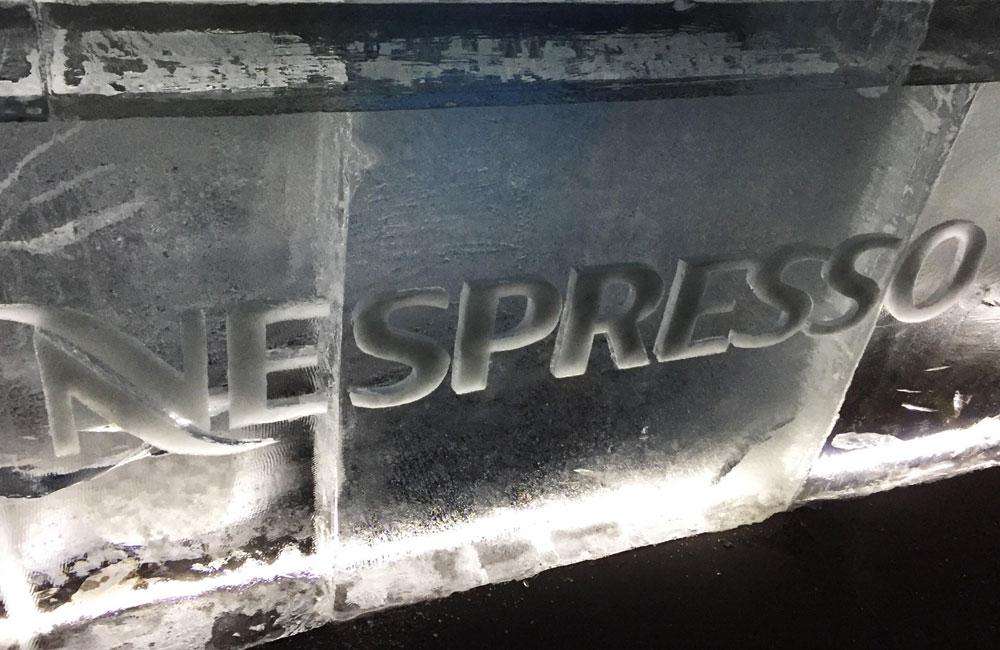 Nieuw: de Nespresso Ice Bar op Flagey