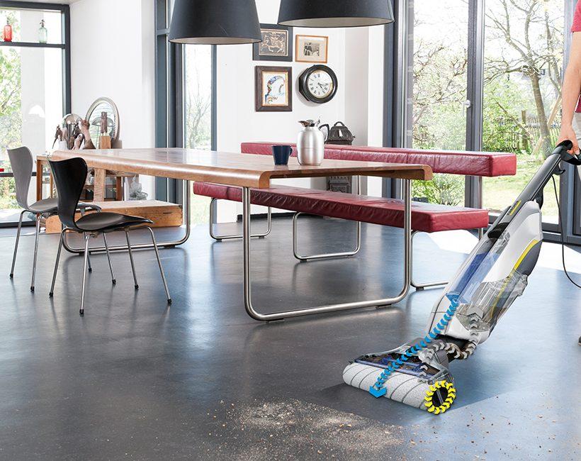 Te winnen: de FC 5 Floor Cleaner van Kärcher twv 279,95 euro