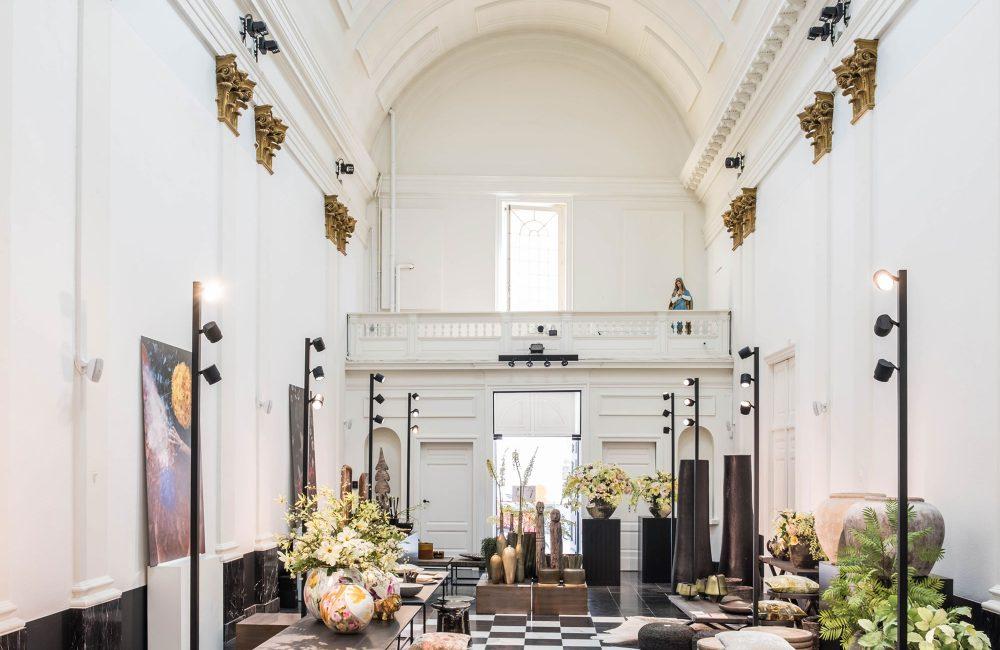 Chapel Store DE BORGHT: deco- en bloemenzaak breidt uit naar 19e eeuwse kapel