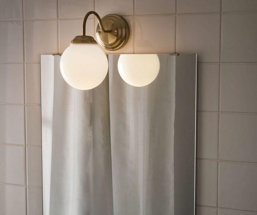 Trend: de witte bollamp is terug van weggeweest