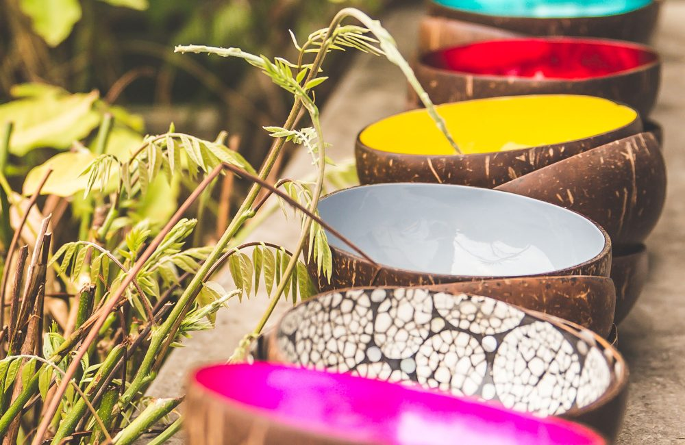Kokosnoot als deco: maak kennis met de bijzondere schaaltjes van P'tit Pot