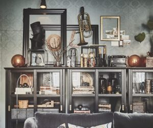20 vitrinekasten en glazen stolpen voor een mysterieuze sfeer thuis