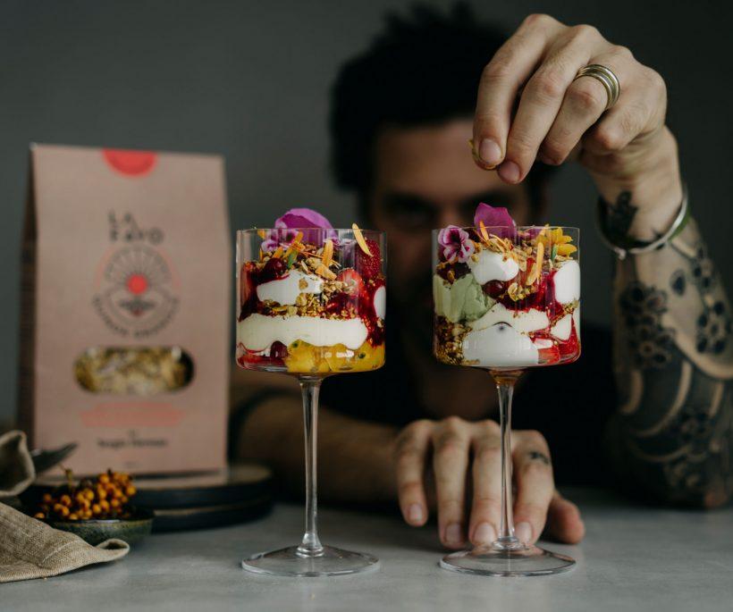 Sergio Herman en La Favo lanceren exclusieve granola