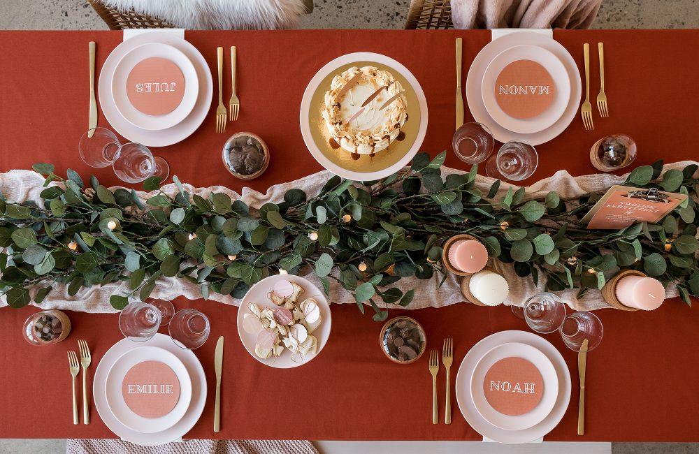 10 creatieve ideeën voor een terracotta kersttafel actief wonen