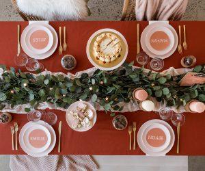10 creatieve ideeën voor een terracotta kersttafel